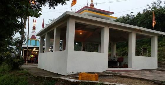 Panchmukhi Hanuman Mandir kharsia